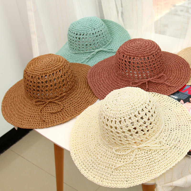 Knitted Straw Hat Making