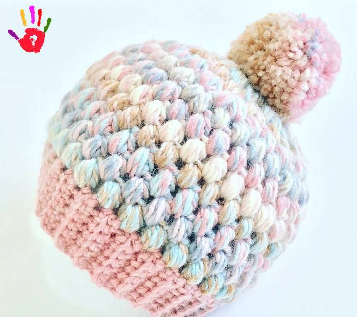 How To Make Berets With Crochet Work With Pistachio Knitting Models